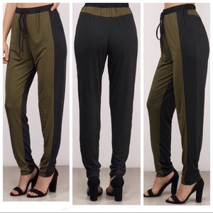 NEW Black and Green joggers